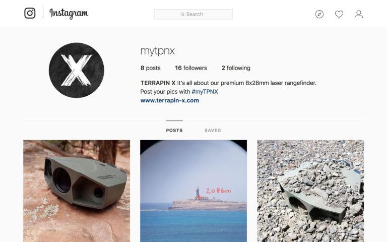 TERRAPIN X on Instagram